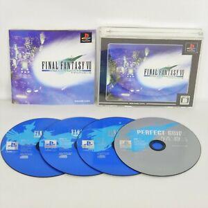 FINAL FANTASY VII 7 INTERNATIONAL Ultimate Hits UH PS1 Playstation p1
