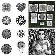 Tattify Assorted Mandala Temporary Tattoos - Ascension (Complete Set of 16 Tatto