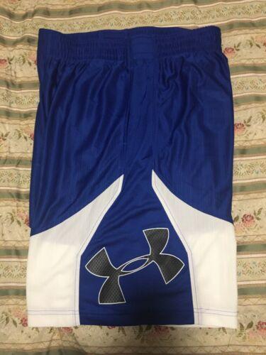 UNDER ARMOUR Men's Money Athletic Shorts Loose HG 1293955 400 NWT Sz LARGE