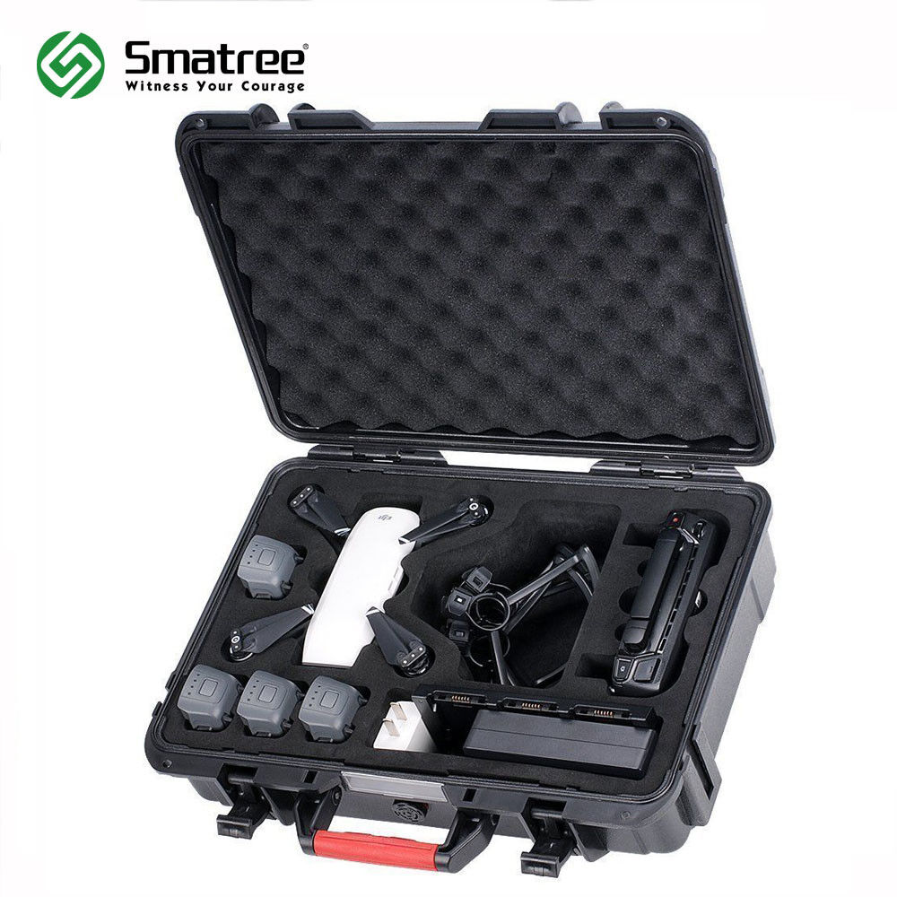 Smatree Carrying Case for DJI Spark,4 Spark Batteries,Battery Charger,Controller