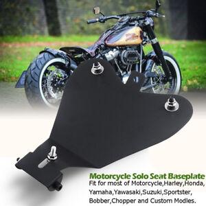 Motorrad-Solo-Sitz-Grundplatte-Sattel-Fuer-Harley-Davidson-Sportster-XL-883-1200