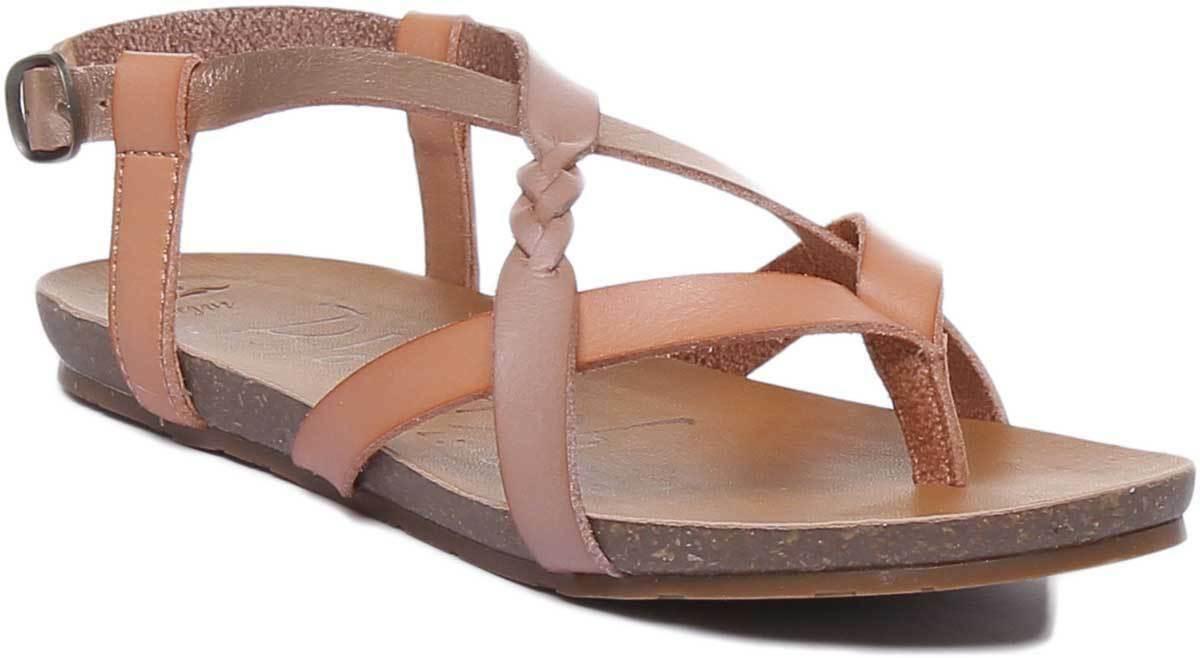 Blowfish Granola-B Womens Vegan Strapy Flat Comfy Sandals In pink UK Size 3 - 8