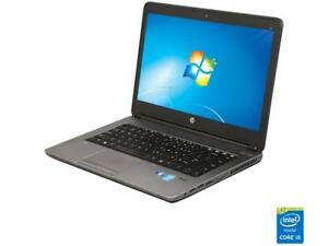 "HP 640 G1 14.0"" B Grade Laptop Intel Core i5 4th Gen 4300M (2.60 GHz) 320 GB HDD"