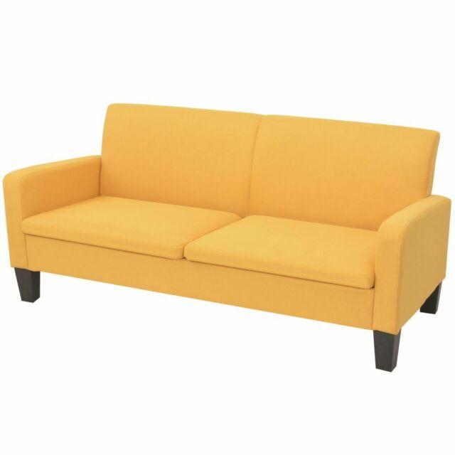 vidaxl divano 2 posti  Vidaxl divano a 2 posti 180x65x76 cm Giallo Divani   Acquisti Online ...