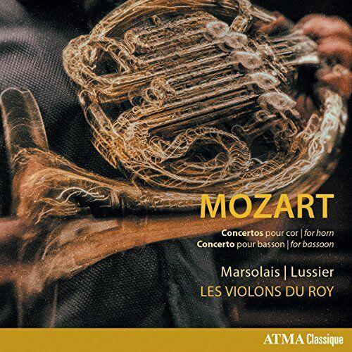 Les Violons du Roy - Mozart: Concertos For Horn and Bassoon [CD]