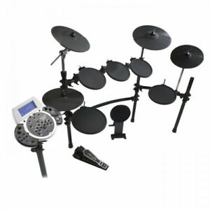 simmons sd9k electronic drum kit with rack and module ebay. Black Bedroom Furniture Sets. Home Design Ideas