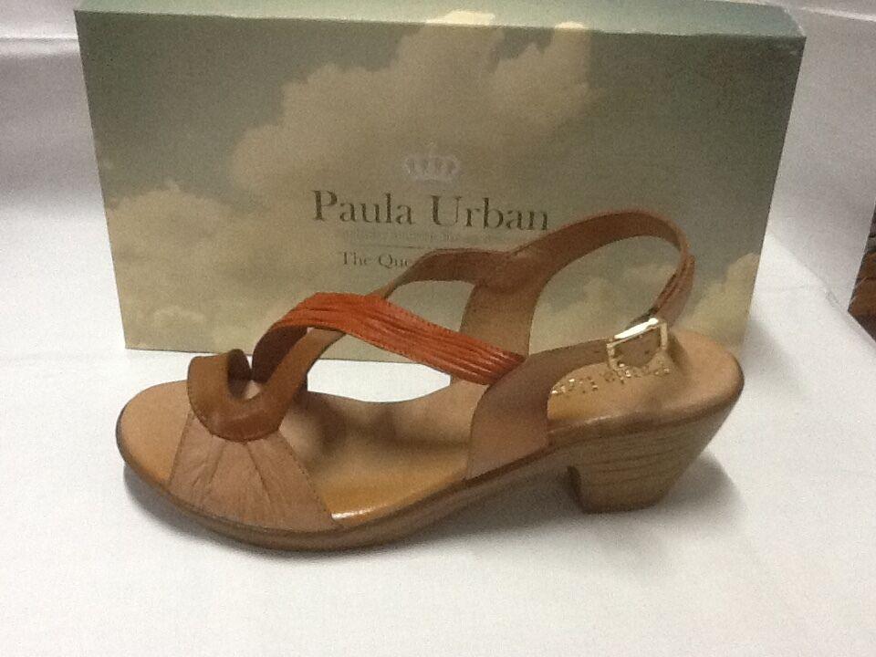 Paula Urban Sandalee 66070 tan multi