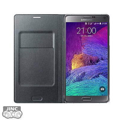 Original Samsung SM-N910T Galaxy Note4/Note 4 Leather Wallet Cover Case Pouch