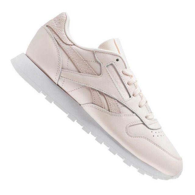 Reebok Classic Leder PS Pastel Damenschuhe Schuhe Light Pink Schuhe Damenschuhe da ... e98ddd