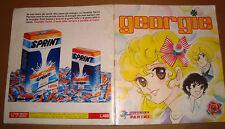 ALBUM FIGURINE LADY GEORGIE COMPLETO PANINI 1984