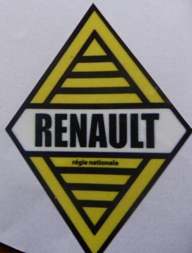 Autocollant sticker 8x6cm RENAULT gordini a310 a110 berlinette r5 r8 R12 losange