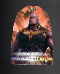 Details about Marvel Upper Deck The Avengers Infinity War Soul Stones Die  cut OS1 card