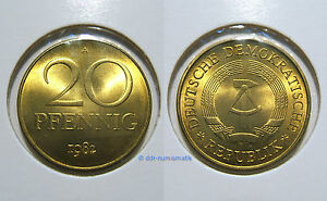 DDR-20-Pfennig-MATT-1969-1989-Jahr-und-Erhaltung-zur-Auswahl