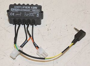 Bien Kemo M032n Amplificateur Neuf!-afficher Le Titre D'origine Technologies SophistiquéEs