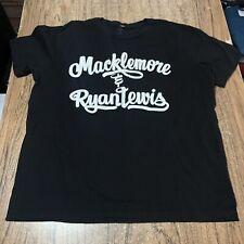 Macklemore GLASSES Seattle Skyline T-shirt Hip Hop Equality Long Sleeve Tee