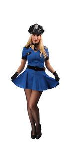 Kostum Polizei Uniform Damen Polizistin Cop Police Karneval Fasching