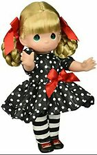 "Precious Moments Forever Fashionable 12"" Vinyl Doll Blonde by Linda Rick NEW"