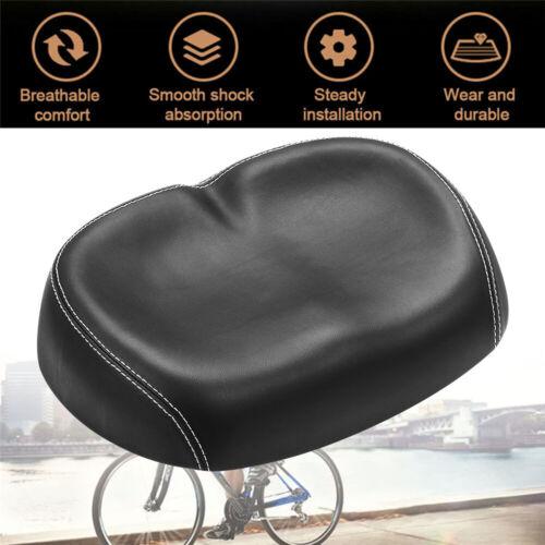 Big Ass Noseless Bicycle Saddle MTB Bike Soft Wide Large Seat Pad Cycling~~~