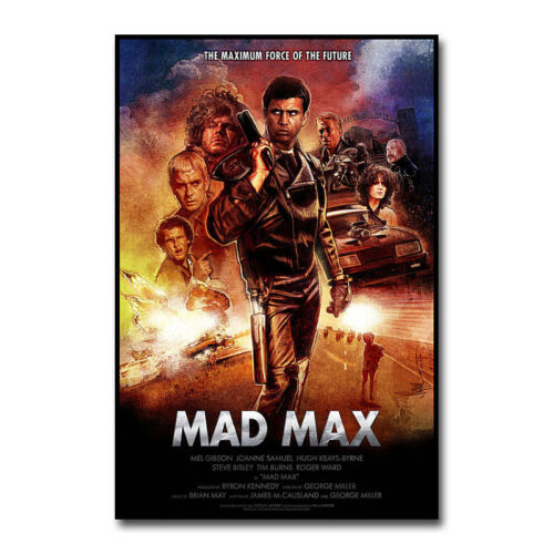 Mad Max Hot Movie Art Silk Canvas Poster 12x18 24x36 inch
