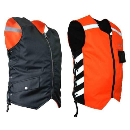 Orange MDVO Missing Link Mens Military Duty Reversible Safety Vest