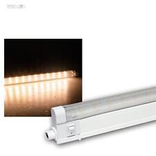 LED Unterbauleuchte 27cm mit 10 SMD LEDs warmweiß 230V Lichtleiste Küchenleuchte
