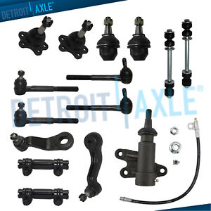 Inner-Outer-Tierods-Sway-Bars-Ball-Joints-K2500-K1500-Suburban-Tahoe-Yukon-4WD