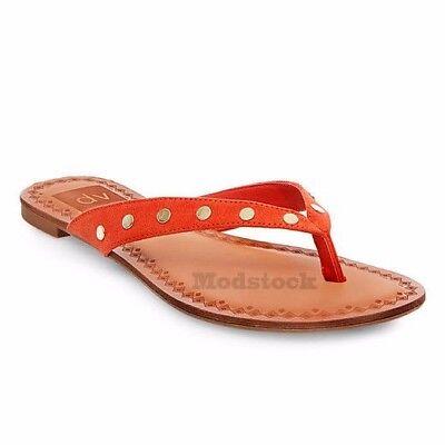 973ec157a3a84 DV for Target by Dolce Vita Bel Stud Flip Flop Thong Sandals NWOB C215