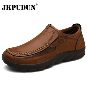 leather men casual shoes zapatos brand 2020 men loafers