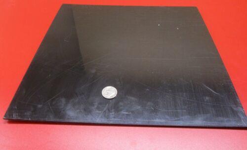 "HDPE 8 Unit Polyethylene 1//8/"" Thick x 12/"" Wide x 12/"" Long Sheet Black .125/"""