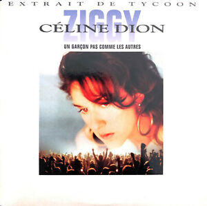 Celine-Dion-CD-Single-Ziggy-Europe-EX-EX