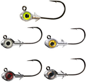 Bass /& Trout Finesse Fishing Tackle Jig Z Man Finesse BulletZ Jig Head 3 pack