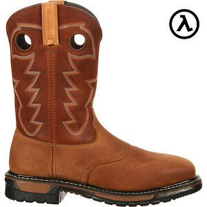 af3a95f83d6 Details about ROCKY ORIGINAL RIDE STEEL TOE WATERPROOF WESTERN BOOTS  RKYW041 * ALL SIZES - NEW