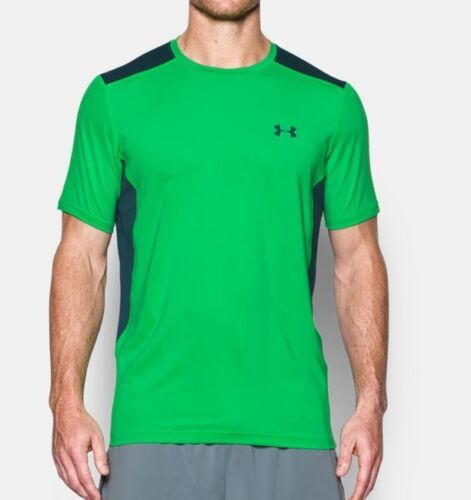 Under Armour MEN/'S UA Raid Short Sleeve Fitted T-Shirt Shirts 1257466 NEW!