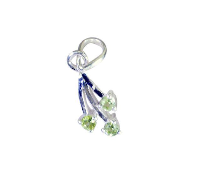 appealing Peridot 925 Sterling Silver Green Pendant genuine supply US gift