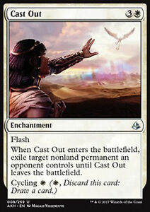 MAGIC MTG CAST OUT FOIL EXC ESPELLERE AKH