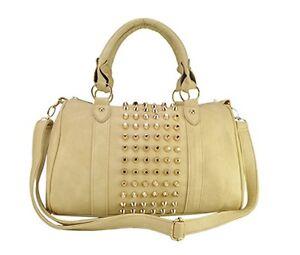 Medium-Sized-Beige-Handbag-with-Gold-studs
