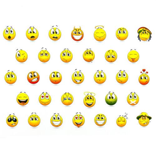 330 Stück Smiley Sticker Set Spielen Kinder Lächeln Belohnung