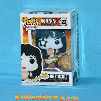 FUNKO POP KISS THE SPACEMAN ACE FREHLEY VINYL FIGURE FREE POP PROTECTOR