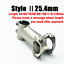 TITO MTB Bicycle Road Bike Stem 5 Degrees 31.8mm 25.4mm Ultralight Gr5 Titanium