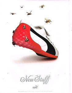PUBLICITE ADVERTISING 025  2005  PUMA  chaussures de sport baskets  NEW STUFF