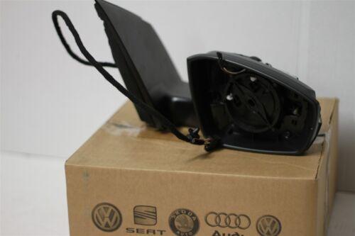 VW Polo 6R 2010-18 right power folding wing mirror 6R2857508P New genuine VW