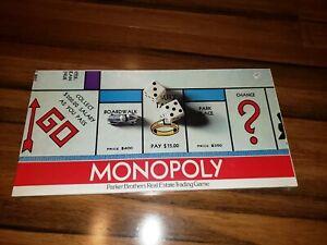 NOS-1975-Vtg-Monopoly-Board-Game-Parker-Bros-1935-1946-1961-BRAND-NEW-SEALED