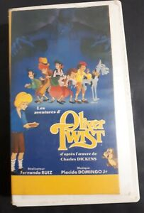 Oliver-Twist-1992-VHS-French-Version-Animation-By-Fernando-Ruiz-Ex-rental