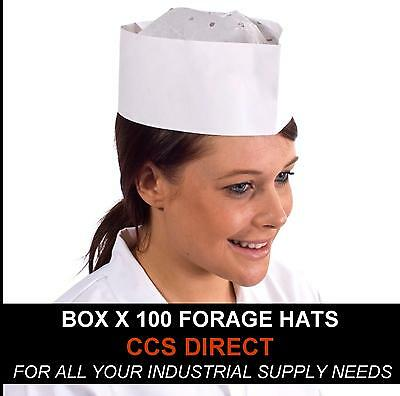 100 free P/&P on all products 2 x Chefs Forage Hat