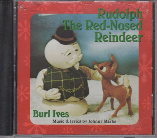 Rudolph The Red Nosed Reindeer Burle Ives Christmas Music CD (1969)