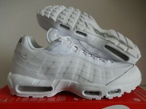 Details about NIKE AIR MAX 95 ESSENTIAL WHITE WHITE PURE PLATINUM SZ 14 [AT9865 100]