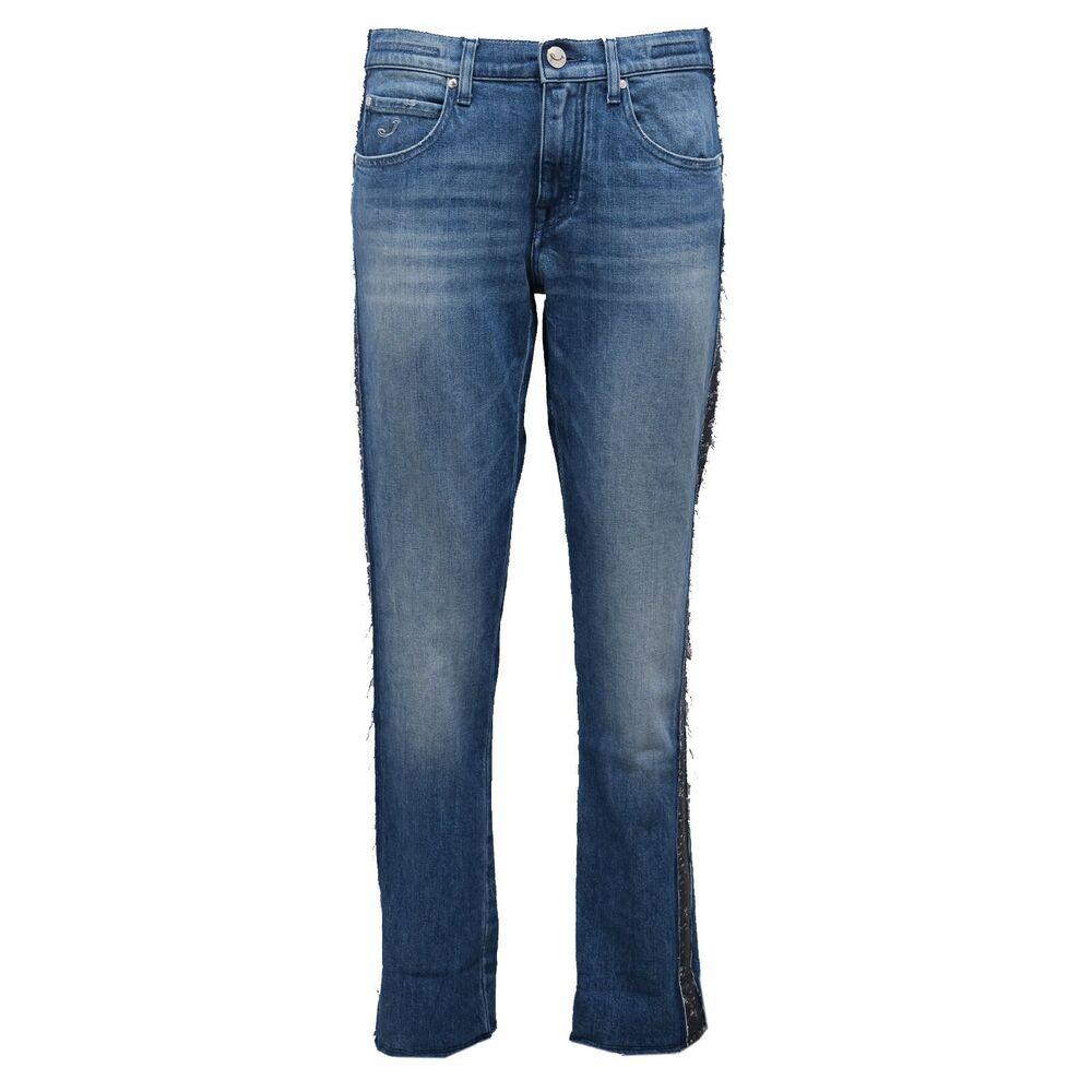 6432ab (no Foulard) Jeans Pantalone Donna Jacob Cohen Frajed Trouser Woman