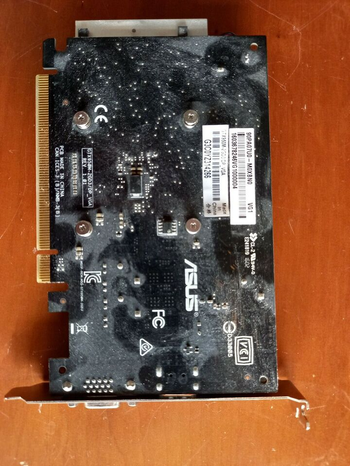 GTX950M Asus, 2 GB RAM, God