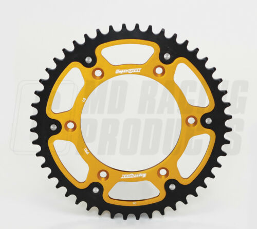 Supersprox Rear Stealth Sprocket Honda CR 250 1988-2006 48 Teeth Gold
