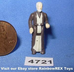 "Obi-Wan Kenobi Old Ben Star Wars Micro Machines ACTION FLEET 1/"" Figure #3 1996"